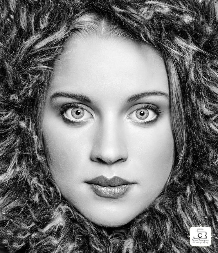Stuart Brampton Photography Black White Portrait